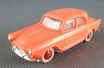 Norev Micro-Miniatures Ho 1/87 Simca Aronde P60 Orange Pneus Blancs Lestée