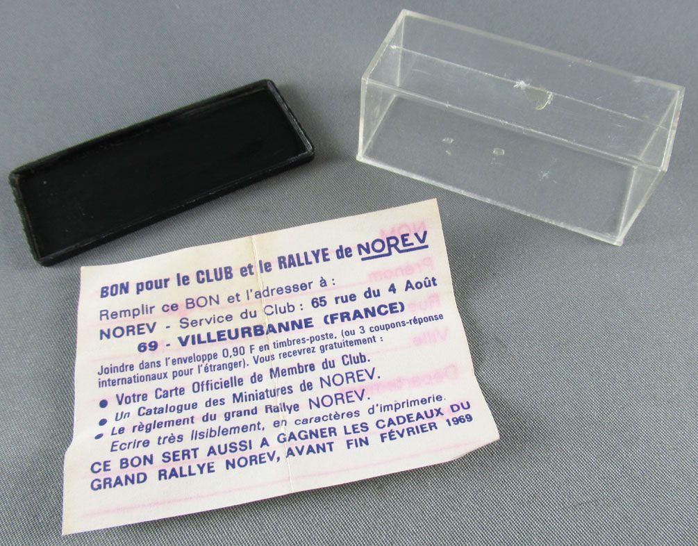 Norev Micro-Miniatures N°505 Ho 1/86 Mercedes Benz 220SE Orange Mint in Box
