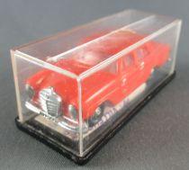 Norev Micro-Miniatures N°505 Ho 1/86 Mercedes Benz 220SE Orange Neuve Boite