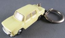Norev Micro-Miniatures N°514 Ho 1:86 Renault 8 Light Yellow Keychain