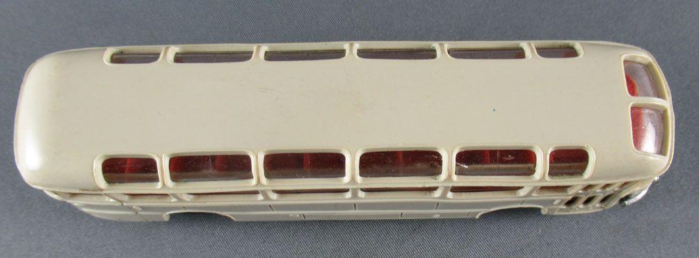 Norev Micro-Miniatures N°528 Ho 1:86 White Cream Saviem Autocar