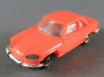 Norev Micro-Miniatures N°530 Ho 1:86 Panhard 24CT Orange Metallized Wheels Weighted