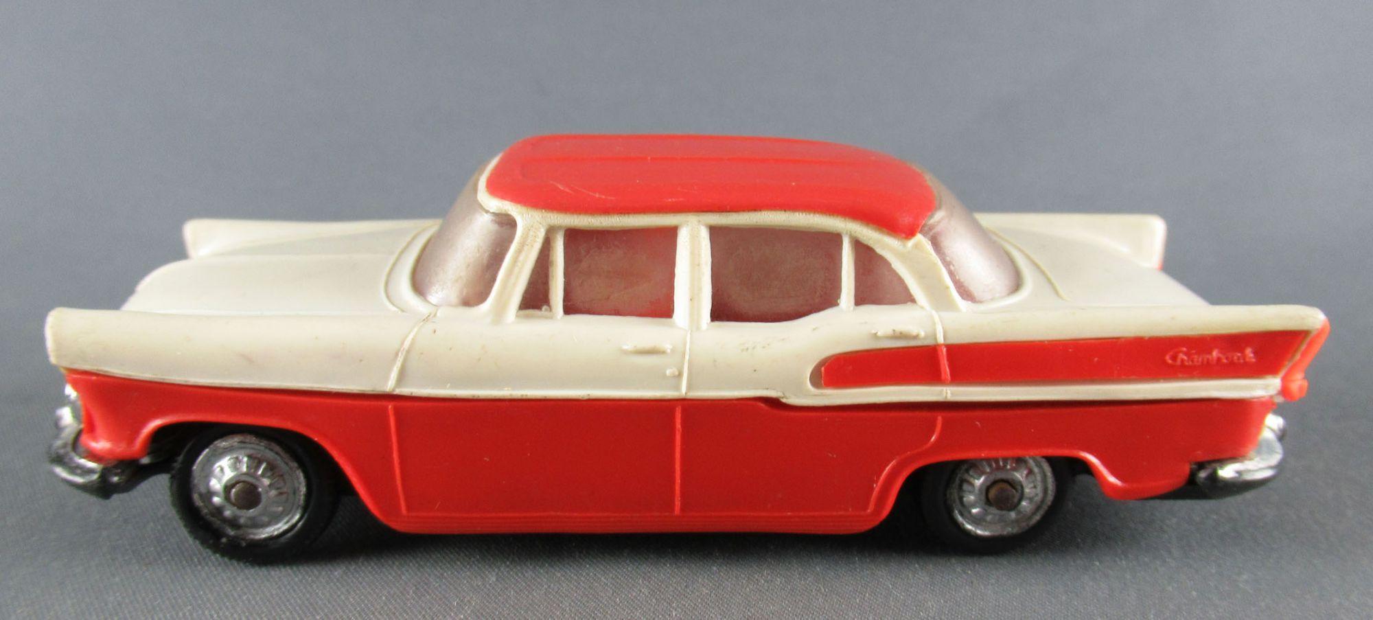 Norev N° 40 Simca Chambord Red & Cream 1:43