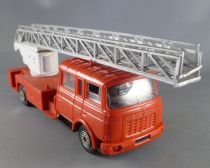 Norev N° 97 Berliet GBK 18 Pompier avec Echelle Magirus DL 30H 1/43