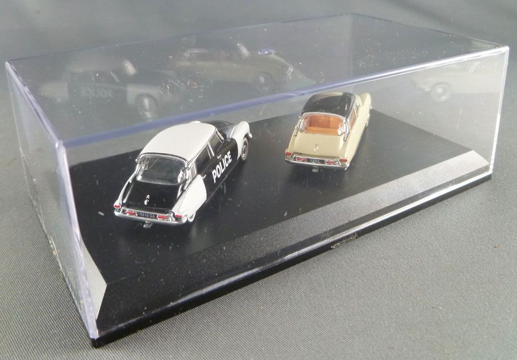 Norev Universal Hobbies for Atlas Ho 1/87 1956 Citroën DS 19 - + 1958 DS 19 Police Mint in box