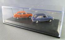 Norev Universal Hobbies for Atlas Ho 1/87 1969 Renault 16 TL + 1969 Renault 16 TL Europe 1 Mint in box