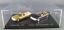 Norev Universal Hobbies for Atlas Ho 1/87 1970 Citroën SM + 1972 Presidential Citroën SM Mint in box