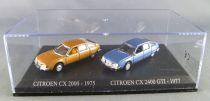 Norev Universal Hobbies for Atlas Ho 1/87 1975 Citroën CX 2000 + 1977 Citroën CX 2400 Gti Mint in box