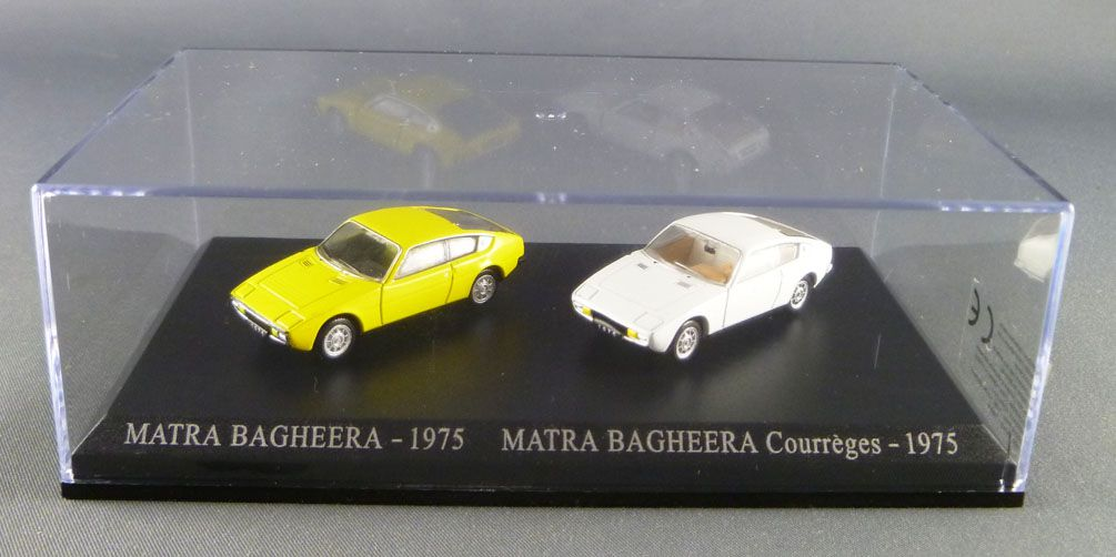 HO4 DUO voitures 1//87 HO universal Hobbies MATRA Bagheera 1975 courrèges