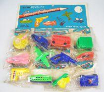 Novelty - Set de 12 Taille-Crayons (Pencil Sharpeners) sur présentoir