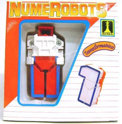 NumeRobots - Number 1