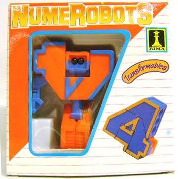 NumeRobots - Number 4