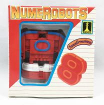 NumeRobots - Number 8 (Red & Blue)