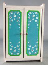 of Sweden # 7181 - Blue Heaven Sleeping Room Wardrobe Dolls House Furniture