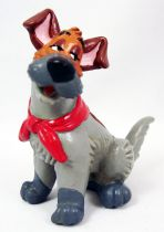 Oliver et Compagnie - Figurine pvc Bully - Roublard