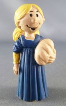 Once upon a time Man - Little Pierrette with bread- Delpi PVC Figure