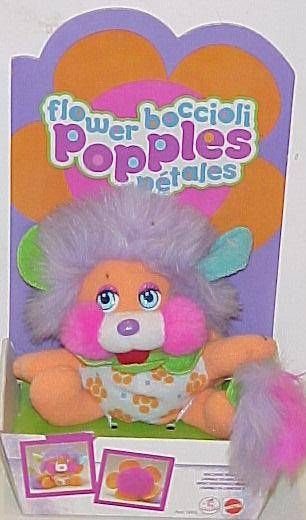 Orange Flower Popple