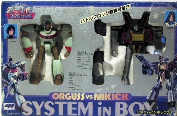 Orguss vs. Nikick System In Box - Takatoku (mint in box)
