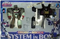 Orguss vs. Nikick System In Box - Takatoku (mint in box)