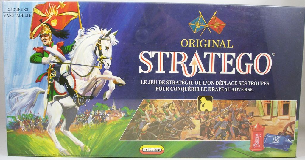 original stratego board game jumbo habourdin 1992