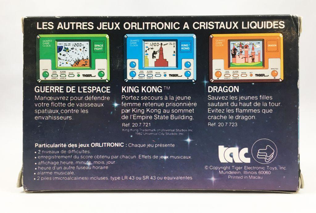 Orlitronic (Tiger) - Jeu / Montre à Quartz - Le Dinosaure (Ref.20.7.720)