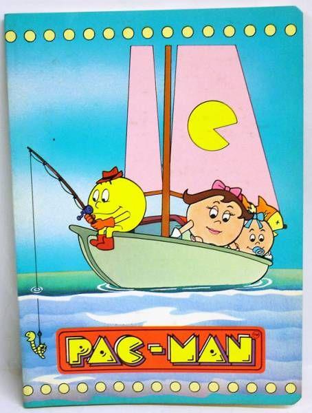 Pac-Man - Cahier d\'écolier - La famille en bateau - Pigna Piu