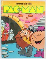 """Pac-Man - Eurédif - Album \""""Comme à la télé\"""" n°1"""