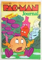 Pac-Man - Euredif (Softcover) - Pac-Man Newspaper #3