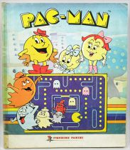 Pac-Man - Panini Stickers Collector Book 1985 (complete)