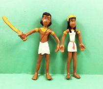 Papyrus - Figurine Flexible Editions Dupuis - Papyrus et Théti