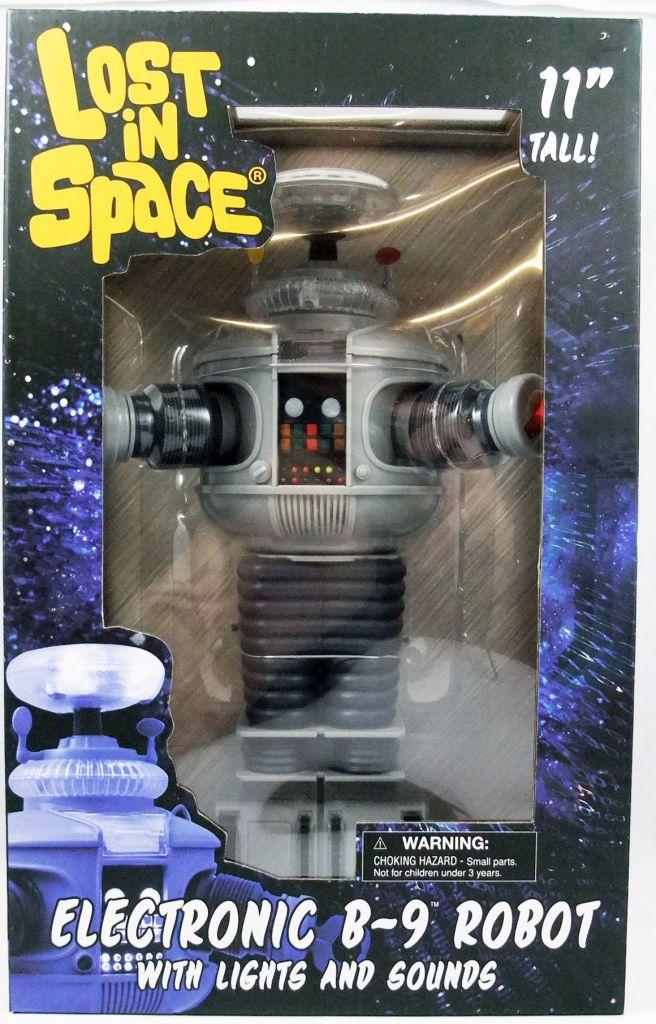 Perdus dans l\'Espace : la série - Electronic B-9 Robot avec sons et lumières - Diamond Select