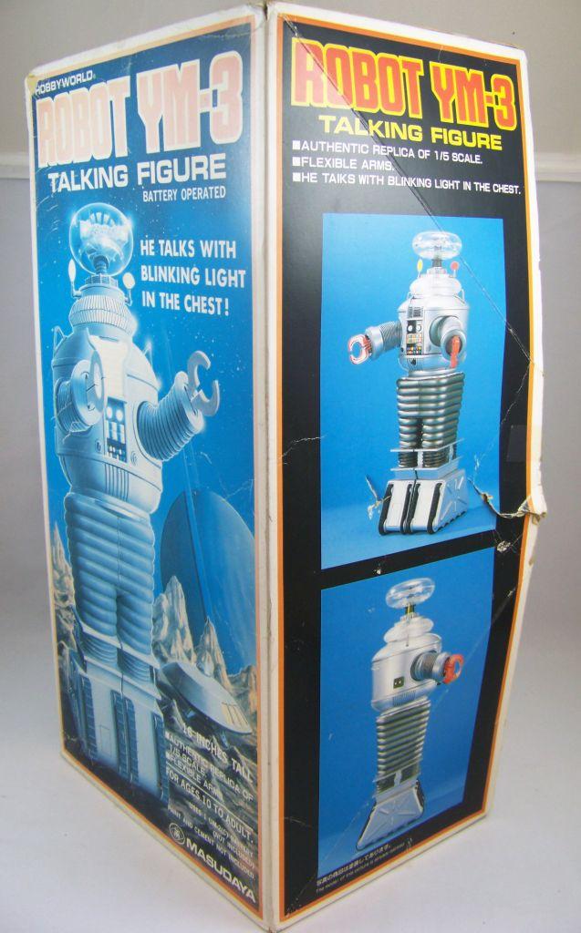 Perdus dans l\'Espace la série - Environment Control Robot YM-3 - Masudaya 1985 03