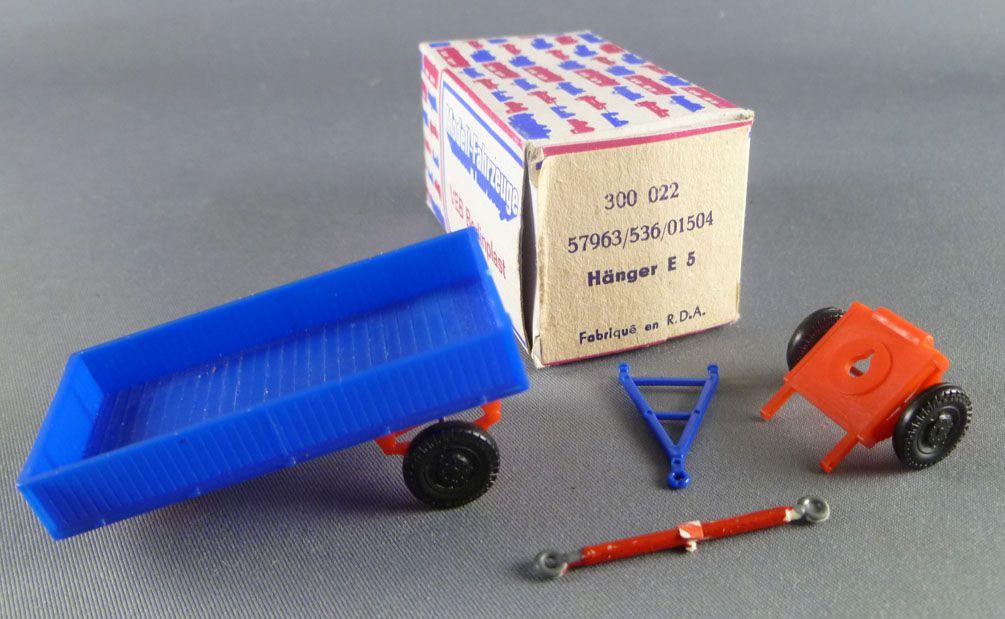 Permot 300 022 Ho 1/87 Remorque Légère E5-2 Neuve Boite