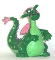 Pete\'s Dragon - Bully PVC figure - Elliot the dragon standing,