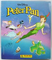 Peter Pan - Album Collecteur de vignettes Panini (complet)