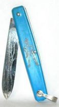Peter Pan - Blue vintage small knife