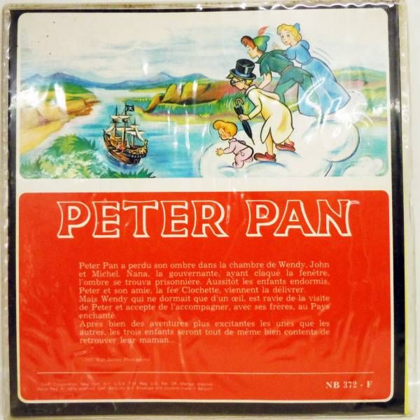 Peter Pan - View-Master 3 discs set + Complet Story