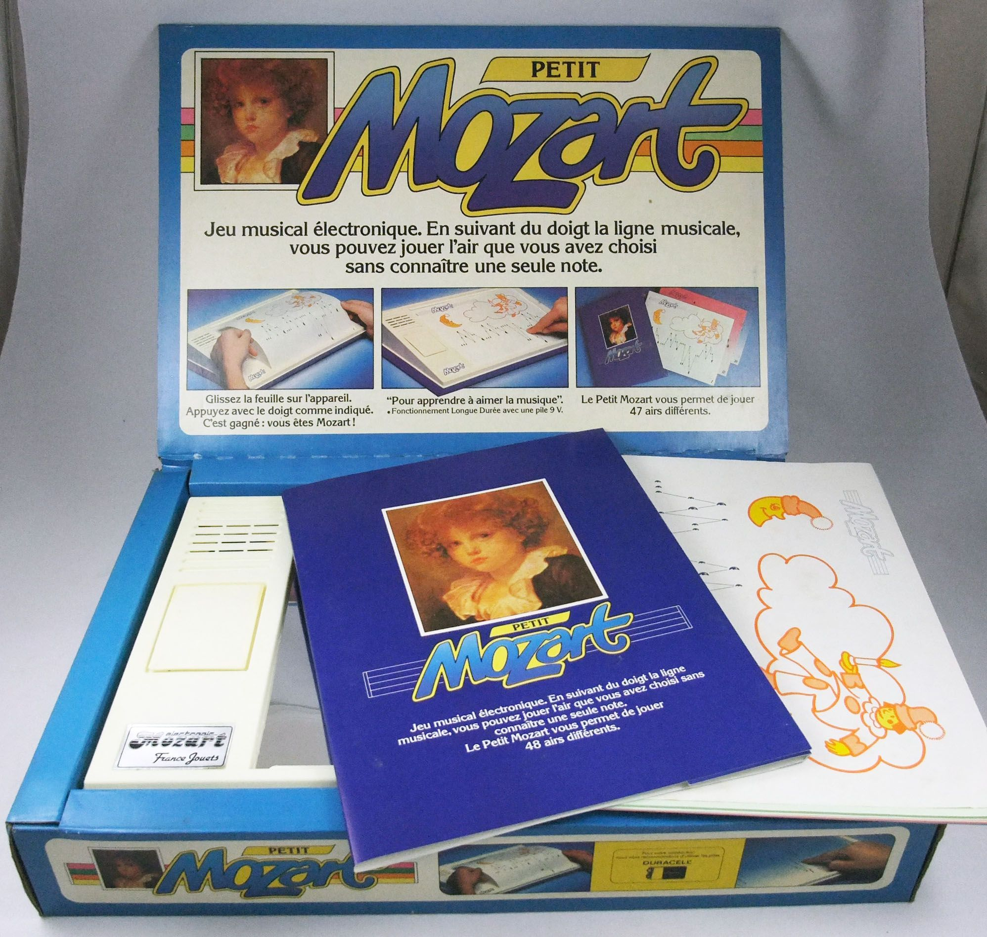 Petit Mozart - Jeu musical electronique - France Jouets 1980