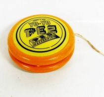 PEZ -  Promotional Yo-Yo - Yo-Yo (Orange & Yellow)