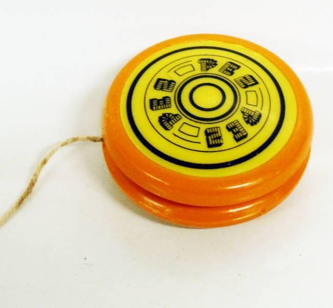 PEZ -  Promotional Yo-Yo - Yo-Yo (Orange & Yellow)