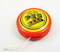 PEZ - Yo-Yo Promotionnel - Yoyo (Orange foncé & Jaune)