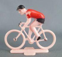PGF Sa Années 60 - Cycliste Plastique - Maillot Rouge