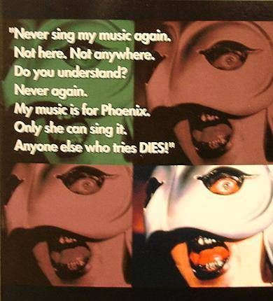 Phantom of the Paradise - Medicom - The Phantom : Winslow Leach (Warning version)