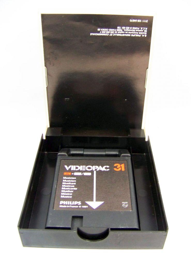 Philips Videopac - Cartouche n°31 Musicien