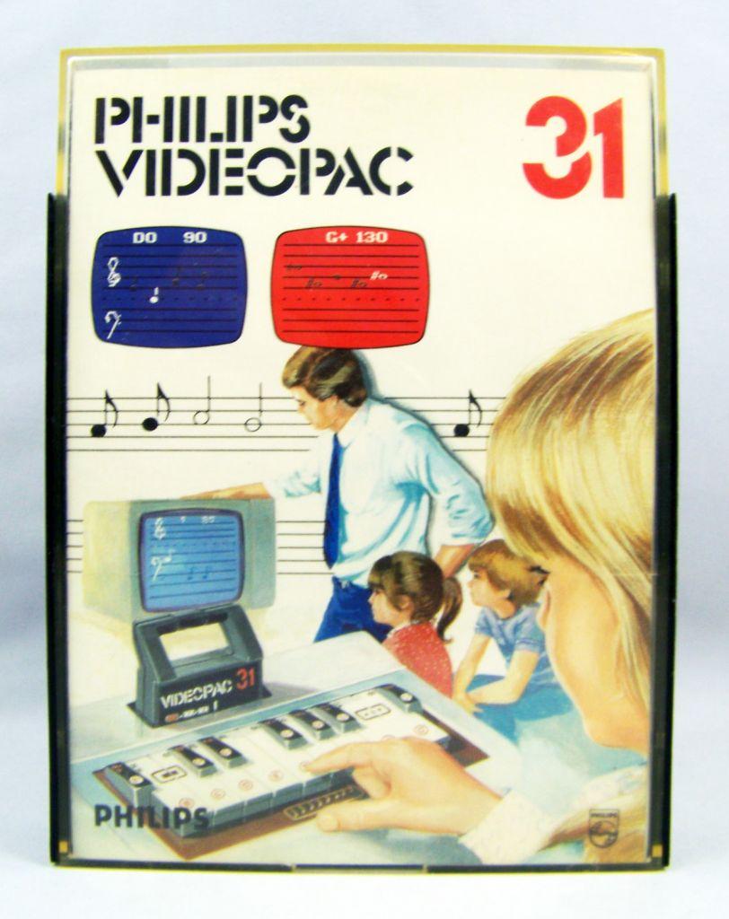 Philips Videopac - Cartridge n°31 Musician