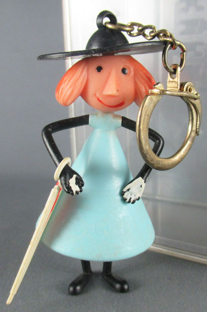 Picolo et Piccolette - Porte Clefs Figurine Articulée - Picolo
