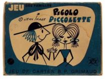 Picolo et Piccolette Family cards game mint in box