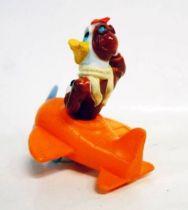 Picsou - Figurines PVC - Flagada Jones en avion