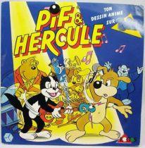 Pif & Hercule - Disque 45Tours - CBS Records 1989