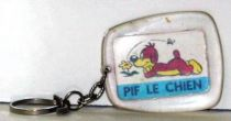 Pif Gadget - Key chain (Vaillant) - Pif the dog (lengthened)
